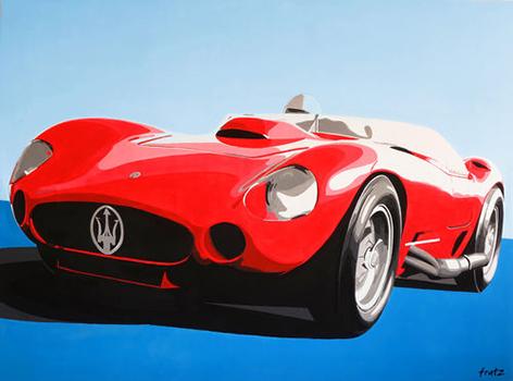 Direkt Art Leinwandbild Direkt Art HOSEUS, Maserati 200x150