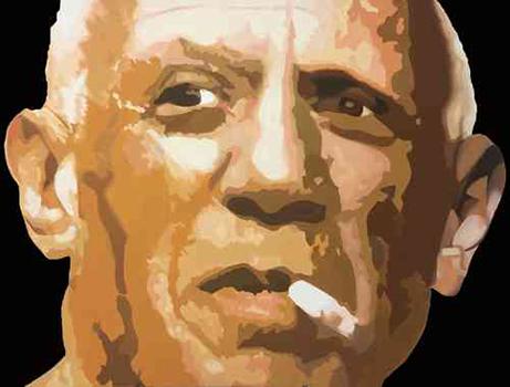 Direkt ArtLeinwandbild Direkt Art HOSEUS, Picasso 200x150