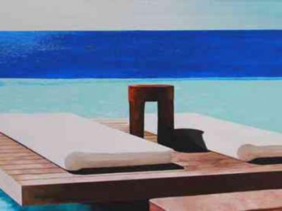 Leinwandbild Direkt Art HOSEUS, Urlaubsfoto Mykonos 200 x100