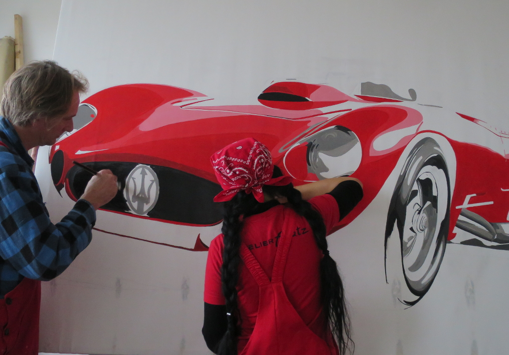 Kunst: Leinwandbilder, Skulpturen Direkt Art von HOSEUS