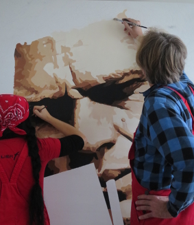 Kunst: Leinwandbilder, Skulpturen Direkt Art von HOSEUS, Fushiontechnik