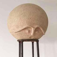 Despectator Skulptur von HOSEUS H 220 cm