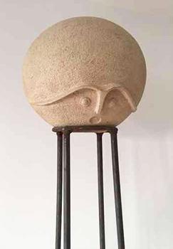 Direkt Art HOSEUS Skulptur Despectator H 220 cm