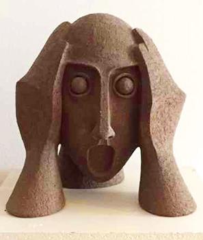 Direkt Art HOSEUS Skulptur Eschatolog H 40 cm