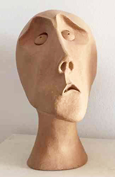 Skulptur Quaestor H 40 cm, HOSEUS