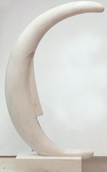 Skulptur Schlaf H 120 cm, Kunst: HOSEUS