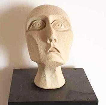 Skulptur Tagtraum-H-25-cm, Kunst: HOSEUS