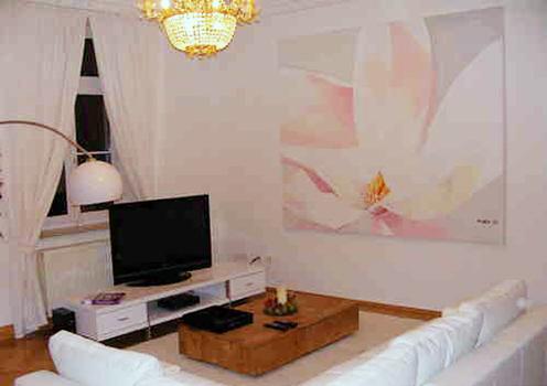 Leinwandbild Direkt Art HOSEUS, Magnolienblüte 200x150