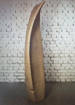 Skulptur Verax 190 cm, HOSEUS, Kunst: