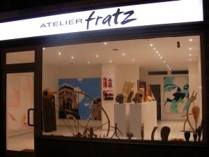 Ausstellung Showroom/Atelier von HOSEUS (ehemals ATELIER fratz) in der Leopoldstrasse 2008