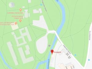 Einladung Ausstellung HOSEUS , Orangerie am Chinesichen Turm im Englischen Garten in München, über 80 Werke
